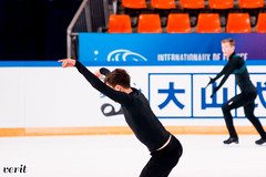 Misha Ge (asveri) Tags: figureskating isufigureskating gpfrance ifp2017 internationauxdefrance grandprix practice фигурноекатание