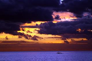 Moody Firelight Sunrise