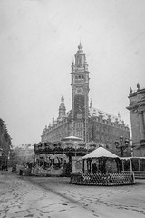 Lille sous la neige (delcroix_romain) Tags: lille nikon snow winter neige town street streetphotography explore lifestyle projects365 projet365 project365 sigma 1835mm