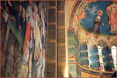 Eglise Saint-Jacob qui acceuille le Jheronimus Bosch Art Center, S'Hertogenbosch, Brabant-Septentrional, Pays-Bas (claude lina) Tags: claudelina canon paysbas hollande holland nederland brabantseptentrional shertogenbosch boisleduc jérômebosch jheronimusboschartcenter fresques coupole
