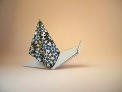 Escargot (Lumaca di mare) - Viviane Berty (Rui.Roda) Tags: origami papiroflexia papierfalten caracol snail escargot lumaca di mare viviane berty