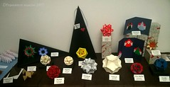 My exhibition at CDO conventio (mancinerie) Tags: origami paperfolding modularorigami mancinerie francescomancini origamicdo2017