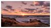 The Remains of the Day (Enrico Cusinatti) Tags: acqua clouds cielo cloud enricocusinatti italy italia landscape mare nuvole orizzonte rocks sea sky sunset seascape sole sun travel tramonto viaggi sardegna