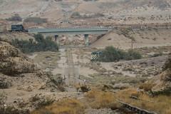 Looking down on Coyote Wells (Arrowhead Fan) Tags: imperial pacific railroad pir sdae san diego eastern arizona california ca carrizo gorge czry interstate 8 baja bjrr