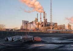 Rotterdam Botlek by Bart van Damme - Botlek, Rotterdam industrial area, Zuid-Holland, the Netherlands  facebook  |  website  |  maasvlakte book  |  coal landscapes book  |  zerp gallery  © 2016 Bart van Damme
