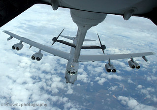 B-52 Stratofortress Bomber refueling
