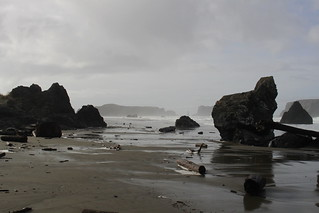 My path wove through the rocks
