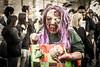 Melbourne Australia (Qicong Lin(Kenta)) Tags: melbourne australia zombie zombiewalk 2017 people portrait makeup street streetphotography halloween nikon 50mm