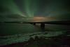 Héraðsvötn (Friðþjófur M.) Tags: nightphotography night nikond750 samyang14mm iceland ísland winter river ís ice friðþjófurm bridge northernlights norðurljós nordlicht norðvesturland skagafjörður skagafjordur tindastóll sauðárkrókur saudarkrokur