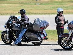 Road trip (thomasgorman1) Tags: motorcycles people road highway street streetphotos streetshots canada nanton helmets riders canon harley harleys