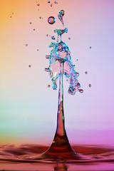 Mid-air Collision (Wim van Bezouw) Tags: water drop pluto plutotriggersony ilce7m2 highspeed macro