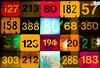Maison de la RATP (ettigirbs2012) Tags: lignesdebus ratp maisondelaratp paris numéros numbers lumières lights carrés squares lumièrestremblantes flickeringlights