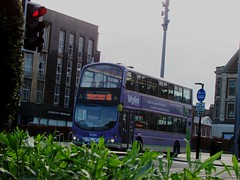 East Yorkshire 720 YX07 HKG (GrimsbyBusChaser) Tags: east yorkshire 720 yx07 hkg wyke college hull volvo b9tl wright eclipse gemini motor services