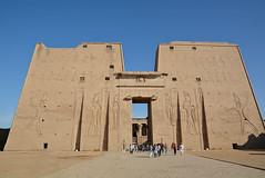 Temple de Edfu (Porschista) Tags: edfu egipte horus temple hathor denderah