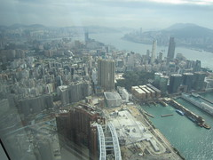 IMG_0522 (Sweet One) Tags: icc sky100 observationdeck view city skyline buildings towers hongkong harbour