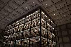 Beinecke 2 (marc.espowood) Tags: books inside beinecke rare book manuscript library yale university new haven connecticut