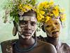 Suri girls (Sue MacCallum-Stewart) Tags: omovalley ethiopia girls africa portrait suri tribe