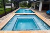 Custom-pool-raised-spa-travertine-coping-paver-deck-2 (aguapools012) Tags: palmcoast aguapools poolbuilders poolcontractors poolconstruction swimmingpool