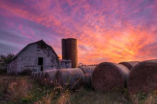 Sunset at Chancellorsville