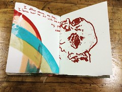 Josiah (Capybailey) Tags: handmadebook printmaking screenprint