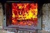 Nevena Uzurov - Old stove (Nevena Uzurov) Tags: stove salaš flame glow hot red nevenauzurov serbia isailovi