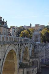 Rome, Italy - Ponte Sisto (jrozwado) Tags: europe italy italia rome roma unescoworldheritage ponte bridge