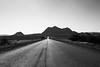 reservation road (Michael Kenan) Tags: arizona az usa road trip apache point pines highway black white blacktop mountians