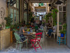 Sunday (toobusyforbs) Tags: sunday cafe coffee tea people street red travel cyprus europe summer august interior