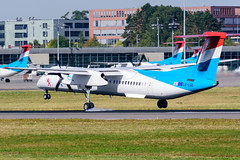 LX-LGG (fitzjames) Tags: bombardier dhc8400 dash8 ellx july2016 lux lxlgg luxair luxembourg sn4418 age5