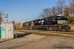 NS 7244 | EMD SD70ACU | NS Memphis District (M.J. Scanlon) Tags: ns6803 cr5570 sd60m up8014 up3484 sd9043mac emd ns7244 sd70acu ns17a 17a transfer bnsf bnsfrailway neptunestreet broadway memphis tennessee road grass tree sky digital merchandise commerce business wow haul outdoor outdoors move mover moving scanlon canon eos engine locomotive rail railroad railway train track horsepower logistics railfanning steel wheels mojo photo photography photographer photograph capture car picture trains