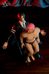 Leon & Chrissy (Sixth Pictorial) Tags: leonkennedy chrisredfield hottoys homoerotic hot toys damtoys doll 16scale 16 sixthscale gay muscle muscular erotica diorama bara phicen seamless male actionfigure cmnm clothedmalenakedmale slut slave jockstrap sheer