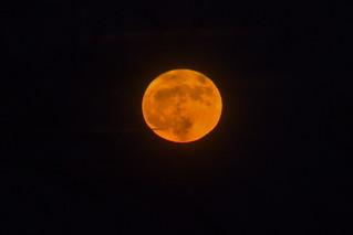 Lever de la super Lune du 3 décembre