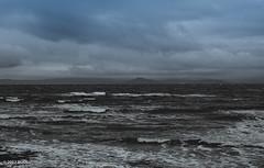 A Walk In A Cold and Windy Morning! (BGDL) Tags: lightroomcc afsnikkor55200mm1456g bgdl seascape nikond7000 prestwick firthofclyde arran afewofmyfavouritethings weeklytheme flickrlounge