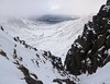 Coire an t-Sneachda Panorama 2 (nic0704) Tags: scotland hiking walking climbing summit highlands outdoor landscape hill mountain foothill peak mountainside cairn munro mountains cairngorms cairngorm snow winter ice coire an tsneachda jacobs ladder gully slant