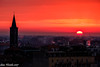 Milan, today sunset (Gian Floridia) Tags: 2017127 milano sambrogio seustorgio belltower campanile sunset tramonto