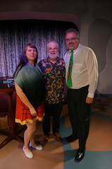 """Ron Clements with Tracey and Scott • <a style=""""font-size:0.8em;"""" href=""""http://www.flickr.com/photos/28558260@N04/27209962289/"""" target=""""_blank"""">View on Flickr</a>"""