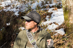 North Georgia Snow & Fly Fishing (DitchGyrl) Tags: 2017 cartecay ellijay fishing flyfish jeremiah river snow december winter
