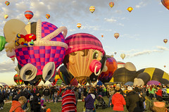 Albuquerque NM Hot Air Balloons 3 (rschnaible) Tags: albuquerque balloon fiesta festival hot air flight fly aircraft sky outdoor color colorful vehicle transportation new mexico us usa west western southwest sport