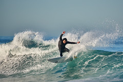 Surfing at the Hospital Reef: 12/12/17 no.2 (tltichy) Tags: lajolla beach blue california coast ocean outdoors pacific sandiego shore socal southerncalifornia surf surfer surfing water waves