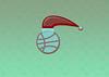 Basketball ball, santa hat (Κωστας5) Tags: christmas basketball basketballneverstop ball illu illustration vector graphics graphic photoshop portofolio wall wallpaper bac background design mydesing