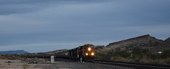 Lead of the Grain Movement 11/03/17 (Woodypug) Tags: bnsf cxst grain unit lead front hackberry arizona 110317 westbound