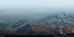 Massif du Mont-Blanc (Ludtz) Tags: ludtz canon canoneos5dmkiii 5dmkiii 74 hautesavoie montagne montagnes mountain mountains alpes alps myst brouillard fog white automne autumn fall neige snow sommet peaks sallanches montblanc ef135|2l