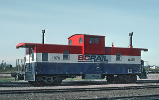 BC Rail Caboose 1876