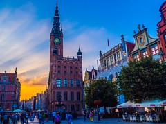 Cuando estás en mis ojos (Jesus_l) Tags: europa polonia gdansk calledelmercadolargo torredelreloj ayuntemiento jesúsl