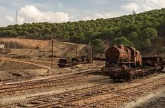 Trenes mineros (Miguel.Herrera) Tags: riotinto minería comarcaminera tren trenes