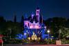Sleeping Beauty Castle Telephoto (TheTimeTheSpace) Tags: disneyland disneylandresort partners mickeymouse waltdisney sleepingbeautycastle disney night nikond810 nikon7020028