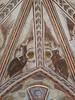 Fresques (XIVe) de la sacristie, Collégiale Saint-Pierre, La Romieu (34) (Yvette G.) Tags: laromieu gers 34 occitanie midipyrénées collégiale église sacristie fresque ange angenoir