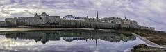 16112017-_DSC0040-Panorama (jibété61) Tags: mer saint malo paysage port bretagne citadelle fort architecture