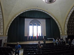 Hall at Bob Hope Patriotic Hall (4189) (Ron of the Desert) Tags: bobhopepatriotichall losangeles losangelescounty california veterans patton movielocation