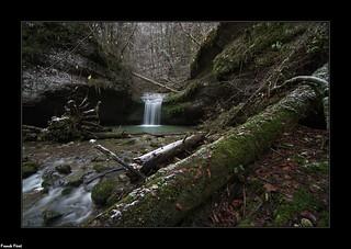 Cascade du Canyon de Rochanon - Bolandoz